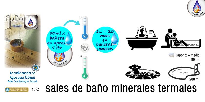 Diferencia entre sales marinas y sales de baño aydoagua.com