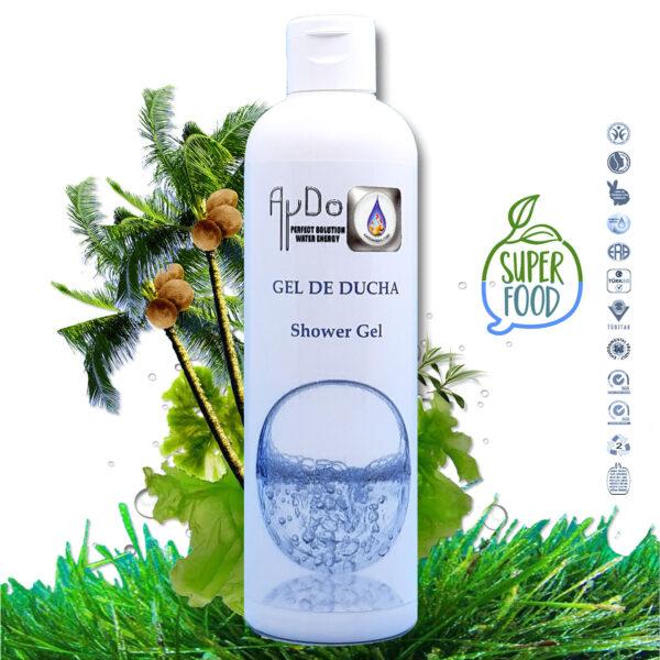 Gel ducha hidratante superalimento aydoagua