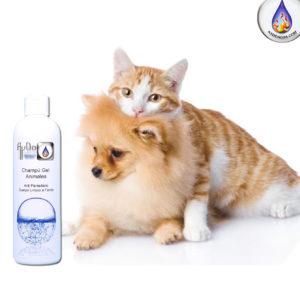 Champú para perros gatos ecologico aydoagua