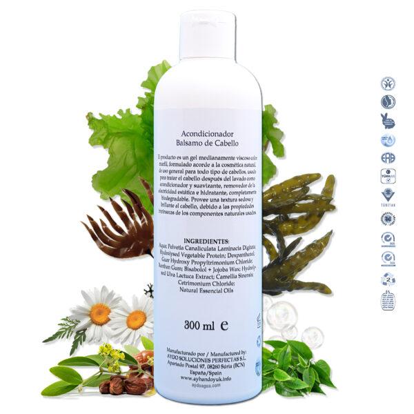 mascarilla acondicionador cabello estropeado vegan eco ingredientes aydoagua