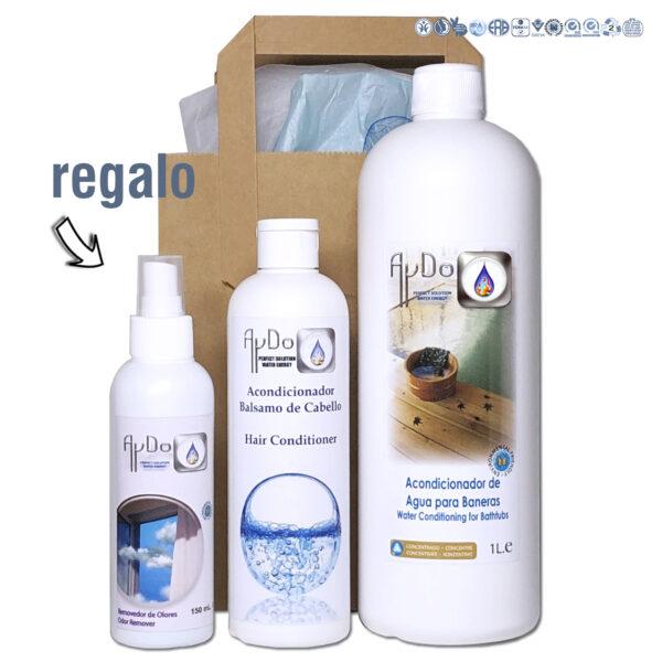 Kit relax baño termal ecologico vegan aydoagua