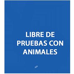 Cosmética libre prueba animales