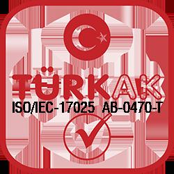 ISO IEC 17025 AB 0137 0470 Turkak