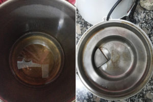 Receta destiladora en vapor de agua aydoagua.com