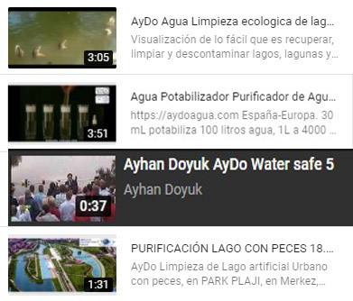 videos mantenimiento bioestanques lagos aydoagua