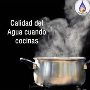 Calidad del Agua para cocinar-aydoagua