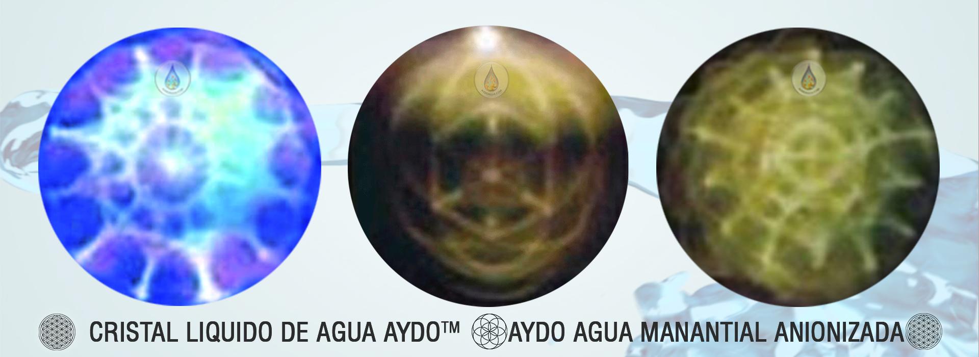 Agua cristal liquido aydo agua anion-aydoagua